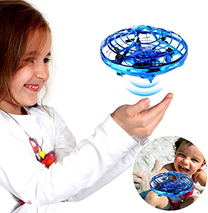 $25 Get Hand Operated Drones, SHARKOOL Hands Free Mini Drone Helicopter for Kids Or Adults, Easy Indoor Or Outdoor Small Orb Flying Ball Drone Toys for Child