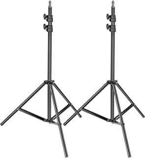 Neewer 2-pack Photography Light Stand - Metal Adjustable 36-79 inches/92-2 centimeters Heavy Duty Support for Photo Studio...
