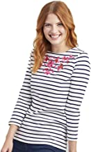 Joules Women's Harbour Embroidery - Lightweight Jersey Top