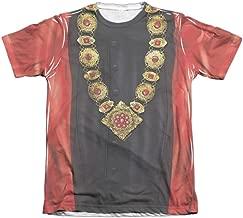 Star Trek Next Generation Q Uniform Costume 1-Sided Print Poly Cotton T-Shirt