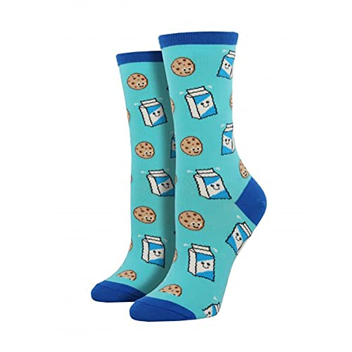 Socksmith (Cookies n Milk Bright Blue, One Size)