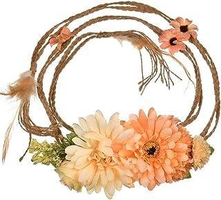 cb9aab2f Amazon.es: coronas de flores para el pelo - Naranja
