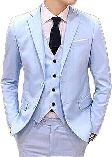Outwear Últimos diseños de pantalón beige hombres traje de ...