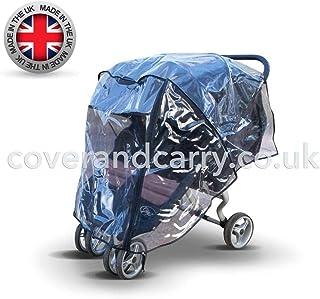 Protector de lluvia para cochecito Britax B-Agile doble,