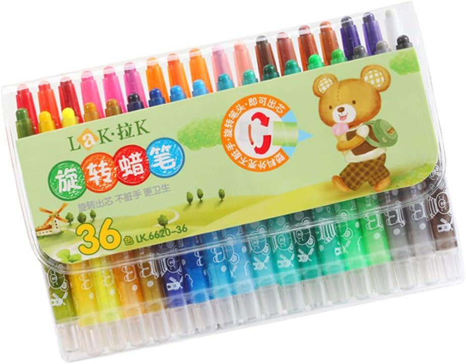 TOYANDONA Max 64% OFF 1 Set of Cartoon Max 84% OFF Drawing Colors 36 Pens Paint Colorful