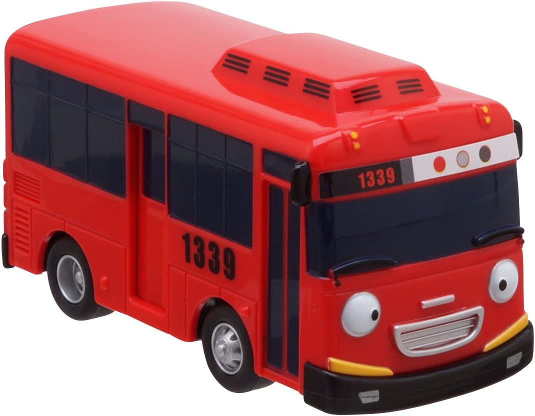 "The Little Bus Tayo Mini Car Big Rogi Green Friction Gear Kids Toy 6.7/""/_amga"