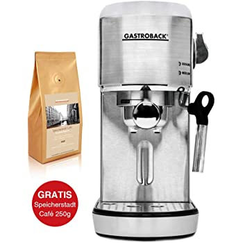 Gastroback Design Espresso Piccolo - Máquina de café espresso ...