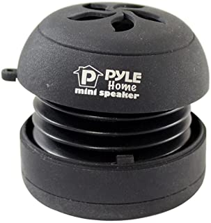 Pyle Home PMS2B Mini Capsule Rechargeable Speaker for iPod/MP3/MP4/Computer/Laptop/Notebook/Audio/Gaming-Devices/PDA (Black) photo