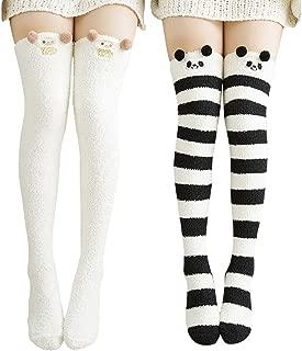 Best knee high socks kawaii Reviews