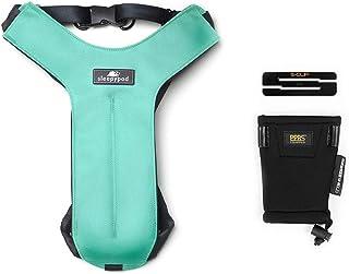 Sleepypod Clickit Sport Bundle Edition - Safest Dog Travel Harness (Small, Robin Egg Blue)