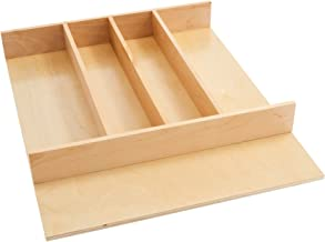 Rev-A-Shelf Tall Wood Utility Tray Insert, Small, Natural