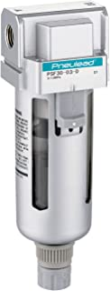 Manual Drain 106 scfm 1//2 NPT No Gauge SMC AW40-N04-8Z Filter//Regulator Metal Bowl with Level Gauge 7.25-123 psi Set Pressure Range 5 Micron Relieving Type