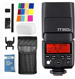 Godox tt350C 2.4G HSS 1/8000s TTL GN36para para cámara Canon Cameras 5d Mark III 80d 760d 60d 600d 7d 30d 100d 1100d Digital X etc
