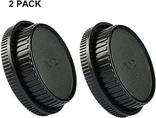(2 PACK) LXH Front Body Cap & Rear Lens Cap Set work for Minolta MD MC Mount Lens and Cameras, Fits Minolta X-700, X570, X-370, XD, XD-7, XD-11 XG, XG-7, SR-T 101, X-1, SR-1, SR-2, SR-7
