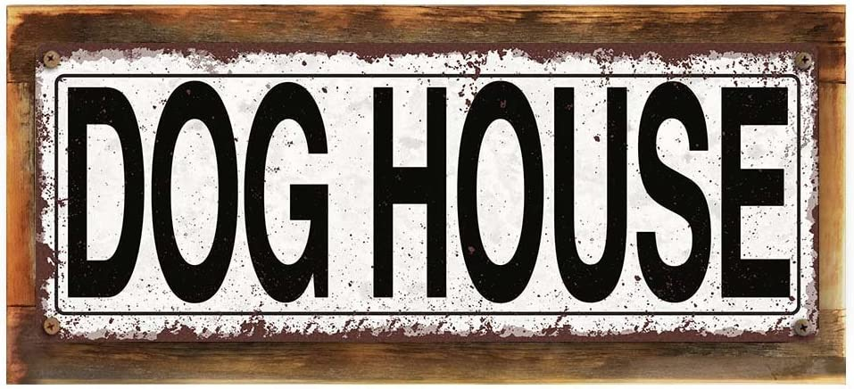 Door sign Welcome sign Personalized Love is a Four Legged Word Rustic Wood Look Metal Room Sign Rustic sign