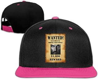 Kakakaoo Wanted Jones Sunbonnet Sun Protection Hat Adjustable Flat Bill Cap White