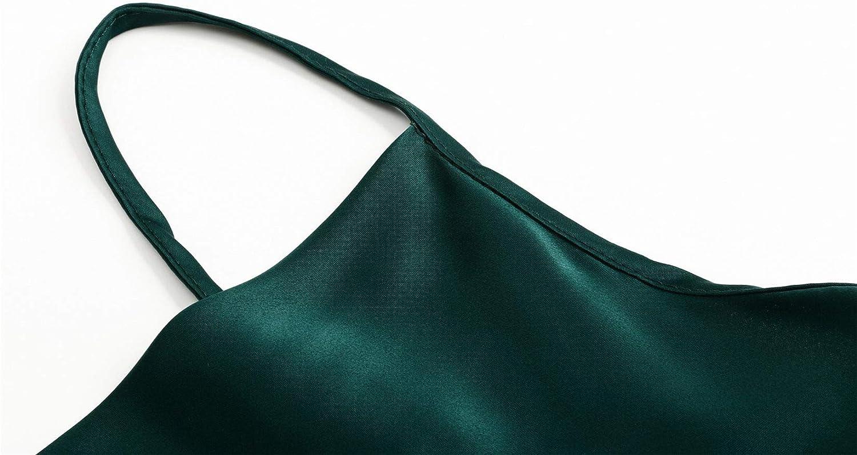 Womens Chiffon Camisole Adjustable Cami Plain Strappy Vest Top T-Shirt Blouse Tank Shirt V-Neck Spaghetti Strap (Multicolor 2,XX-Large)