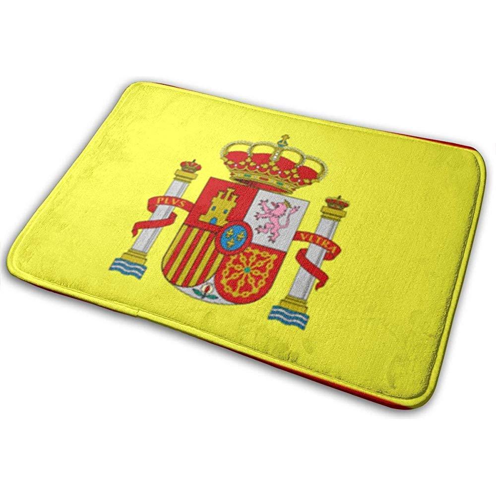 Wenju-shop España Bandera Tapetes Personalizados Personalizados Alfombrillas para Interiores/Exteriores Alfombrillas para Puertas Alfombras de Goma Antideslizantes para Cocina: Amazon.es: Hogar