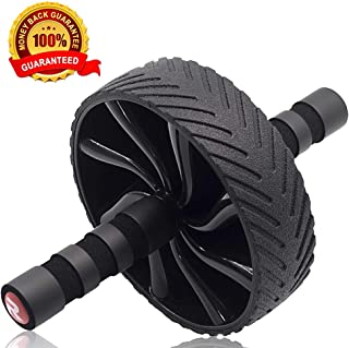 Redipo Ab Roller Wheel - Home Abdominal Exercise Equipment Core Workout - Ab Exercise Equipment as Abdominal Muscle Toner - Abs Roller Ab Trainer