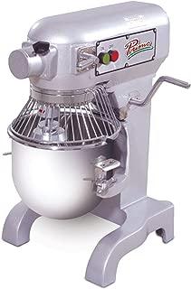 PRIMO PM-10 Stainless Steel Mixer, 10 quart Capacity, 13