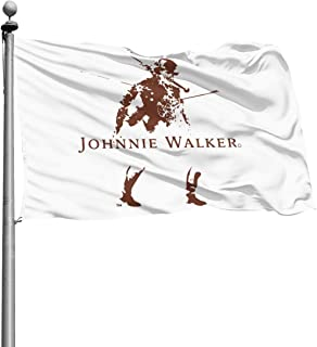 Qq15-kcdds-store Johnnie Walker Home Decoration Flag Garden Flag Indoor Outdoor Flag 4x6 Ft