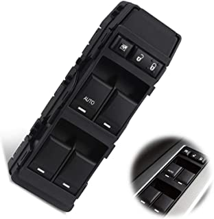 DEEN Driver Side Power Master Window Switch Compatible for 11-14 200; 07-10 300//Sebring; 01-10 Charger//Dakota; 11-17 Compass//Patriot; 2011 Dakota Replace OE# DWS1388;4602780AA; 4602780AB; 4602780AC