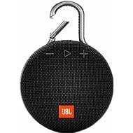 JBL Clip 3 Waterproof Portable Bluetooth Speaker - Black