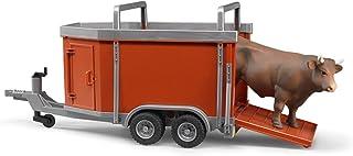 Bruder 02029  - Camión con vaca o toro (animales aleatorios)