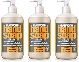 Everyone Hand Soap, Apricot and Vanilla, 12.75 Fl Oz (Pack of 3)
