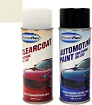 ExpressPaint Aerosol - Automotive Touch-up Paint for Toyota 4Runner - Silver Metallic Clearcoat 1D4 - Color + Clearcoat Package