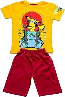 Pokemon summer boy clothes