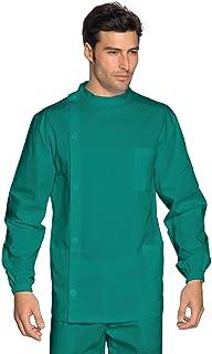 ISACCO Pantalone Con Elastico Verde Chirurgia Cotone M