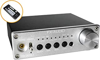 FX-AUDIO- YD-202J YDA138デジタルアンプIC搭載デュアルモノラル駆動式デジタルプリメインアンプ (シルバー)