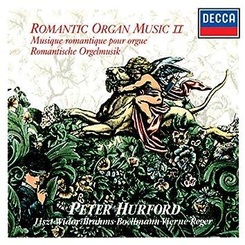 Romantic Organ Music, Vol. 2