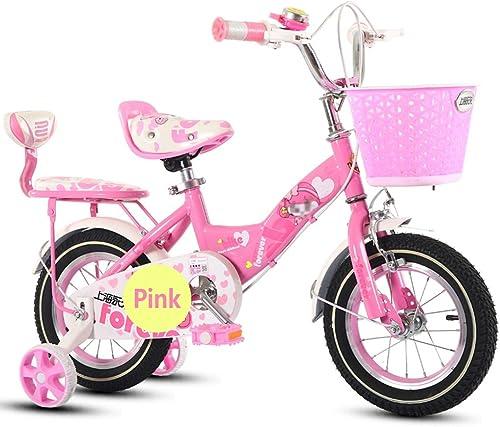 envío gratuito a nivel mundial LiuJF-Fitness Equipment Bicicleta al Aire Libre, Niño Niño Niño niña Pedal Bicicleta Infantil Bicicleta Individual 2-9 años bebé con Ruedas auxiliares Bicicleta 88-121cm  tienda en linea