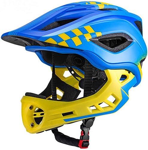 WYNZYTK Casque De Vélo pour Enfants, Prougeection De Sécurité Professionnelle Légère Réglable pour Les Vélos De Route