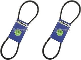 Stens 2 Pk Fan Belt for Kubota 15881-97010 BX1500 BX1850 BX1880 G1800 G2000 ZD18 ZD21