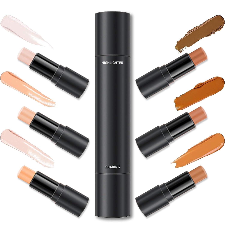 3PCS Erinde Max 71% OFF 6 Colors shopping Portable S Makeup Contour Stick Concealer