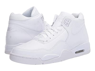 Nike Flight Legacy (White/White/White) Men