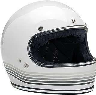 Biltwell Gringo Helmet - Limited Edition Spectrum (XX-LARGE) (GLOSS WHITE)
