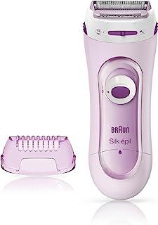 Braun Silk-épil Ladyshave 5-100 Roze - Draadloos Elektrisch Scheerapparaat En Trimmersysteem