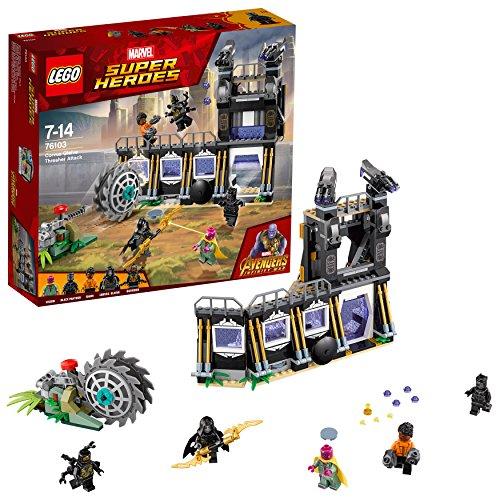 LEGO- Super Heroes The Avengers Set Costruzionil'Attacco Falciante di Corvus Glaive, Multicolore, 76103