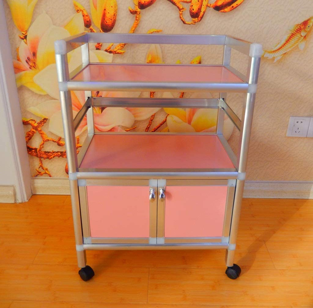 The Max 41% OFF taste of home Trolley Beauty Cart Stee Stainless Tool Barber Tampa Mall
