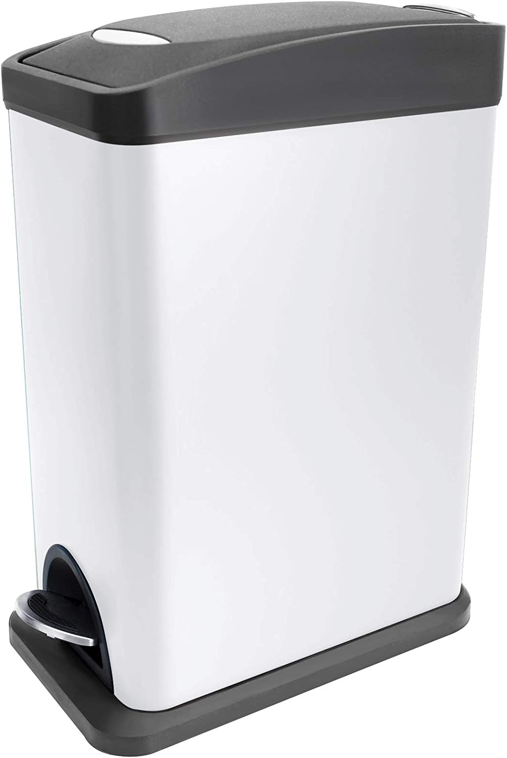 Rapid rise Slim Small Trash Can with Lid Close Soft Wasteb Removable 100% quality warranty! Inner