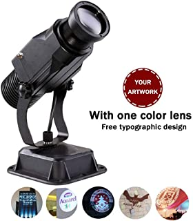 GOBO Logo Projector 15w Led Custom Image with Manual Zoom for Party, Wedding and Advertising