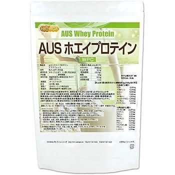 AUS ホエイプロテイン グラスフェッド 1kg NICHIGA(ニチガ) WPC製法タンパク含有率81%