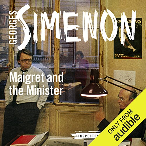 Maigret and the Minister audiobook cover art