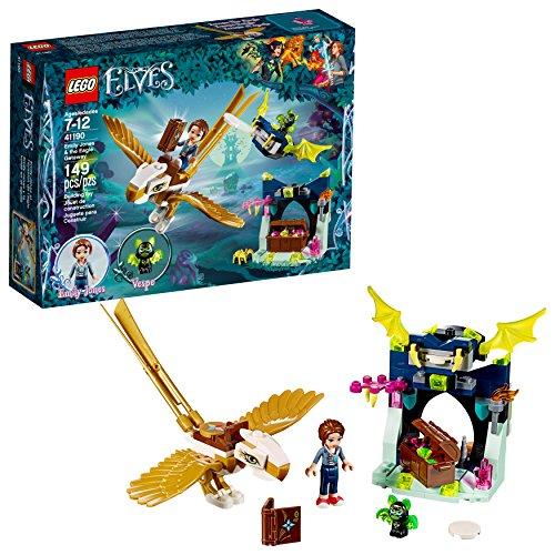 LEGO 6212137 Elves Emily Jones and The Eagle Getaway 41190 Building Kit
