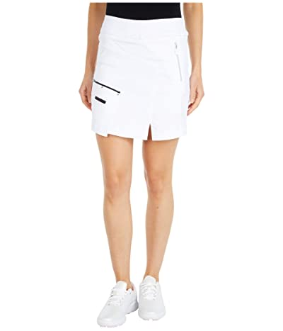 Jamie Sadock Skinnylicious Skort with Control Top Panel (Sugar White) Women
