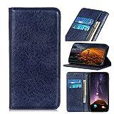 BELLA BEAR Hülle für Asus Rog Phone 3 [PU-Leder] [mit Kartensteckplätzen] [mit Ständerfunktion] Handyhülle Geeignet für Asus Rog Phone 3(Blau)